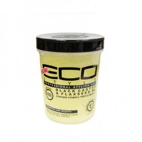 Eco Styler Gel de Ricin Noire et Grain de Lin
