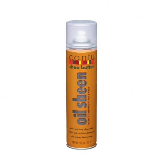 Cantu Spray brillance beurre de karité 270g (Oil Sheen)