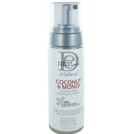 Design Essential COCONUT&MONOI Coconut Milk Foaming Co-Wash